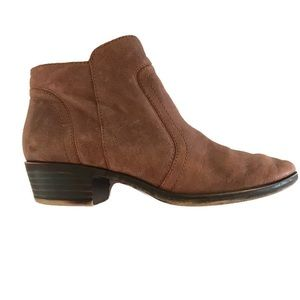 Lucky Brand Bella leather ankle bootie size 7
